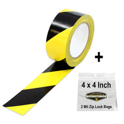 Mighty Gadget Yellow Black Safety Tape 3