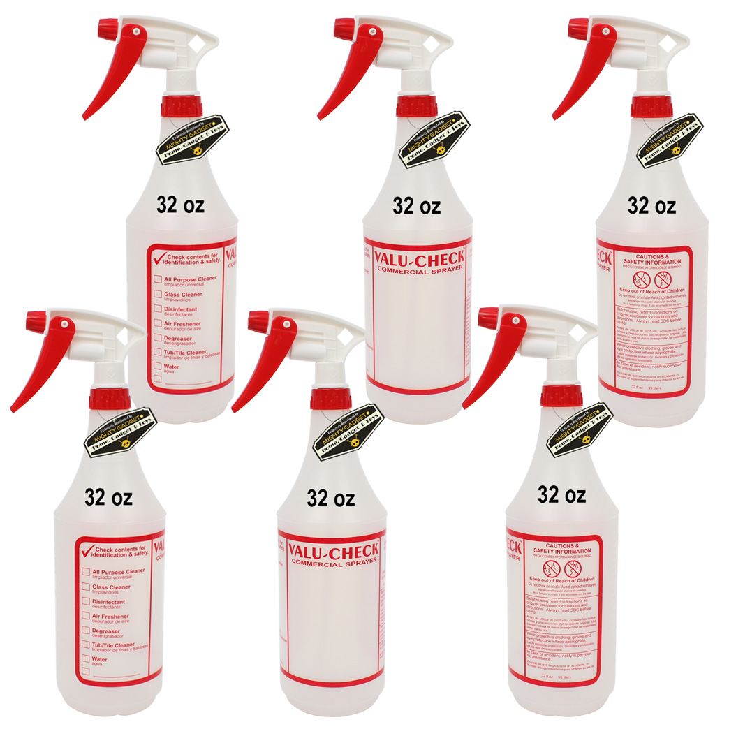 Mighty Gadget 6 x 32 oz Value Quality Empty Sprayer Bottles 1