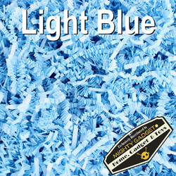 Mighty Gadget Crinkle Paper Light Blue