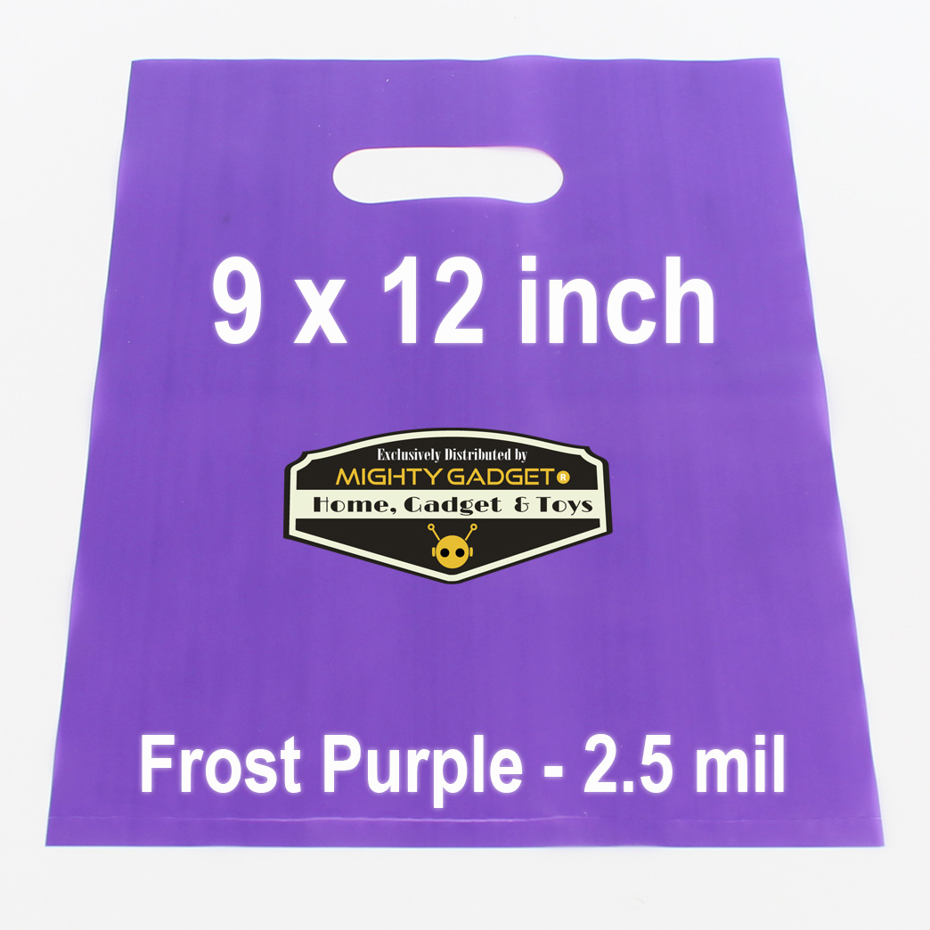 Mighty Gadget Frost Purple Translucent Merchandise Bags 1