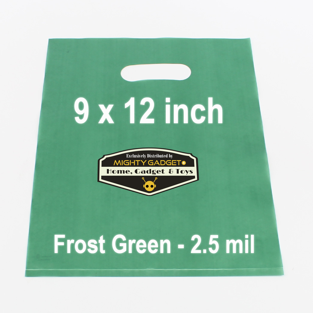 Mighty Gadget Frost Green Translucent Merchandise Bags 1