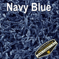 Mighty Gadget Crinkle Paper Navy Blue