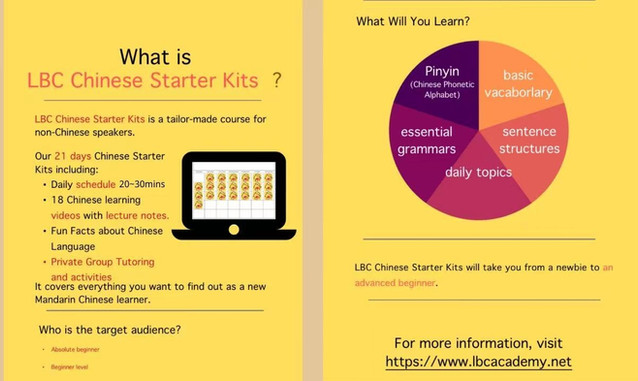 LBC Chinese Starter Kits