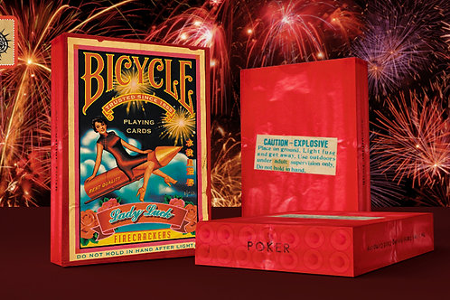 The Firecracker Playing Cards