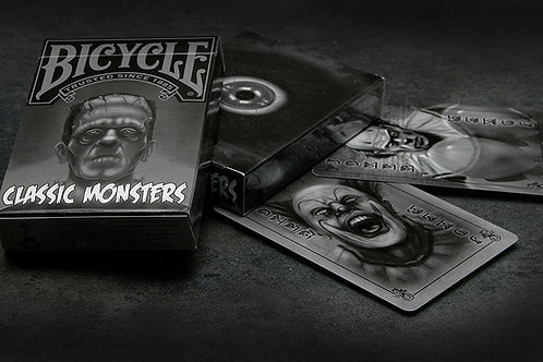 Classic Monsters Playing Cards