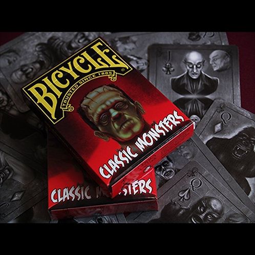 Classic Monsters Playing Cards Limited Edition