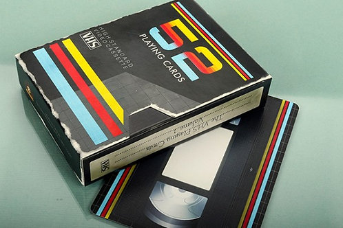 VHS Playing Cards