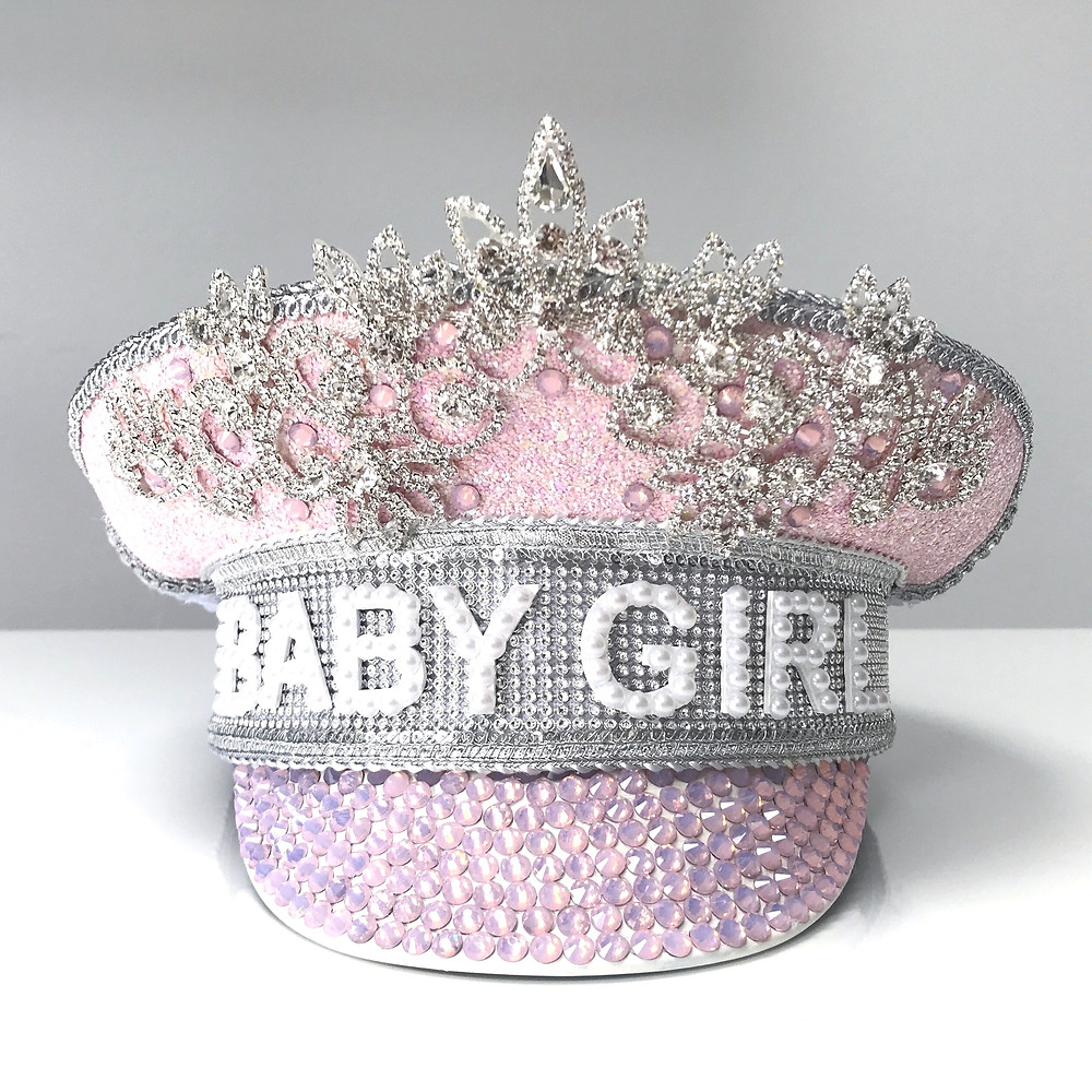 Gender Reveal Hat Baby Shower Hat