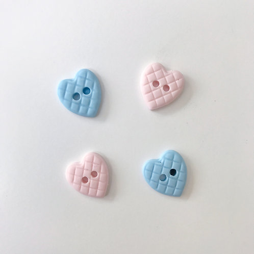 Baby Heart Buttons
