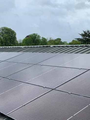 Commercial roof system
