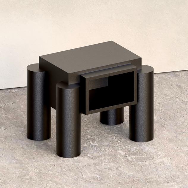 Black console