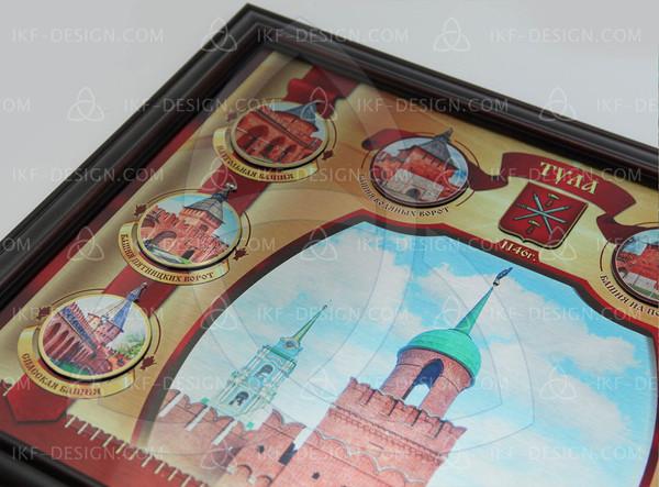 Панно Тульский кремль