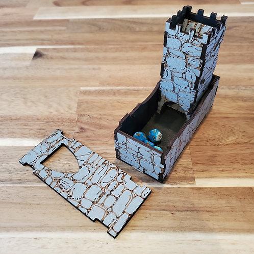 Mini Dice Tower (Grey)