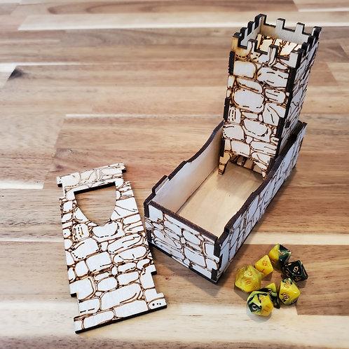Mini Dice Tower (Natural)