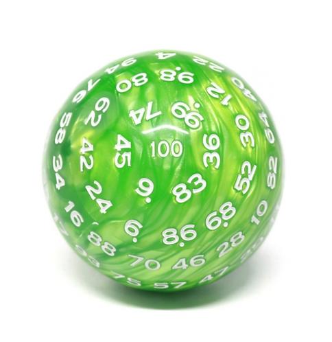 D100 Pearl Green