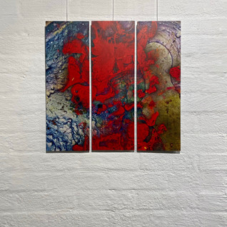 The Promise-triptych, 2019
