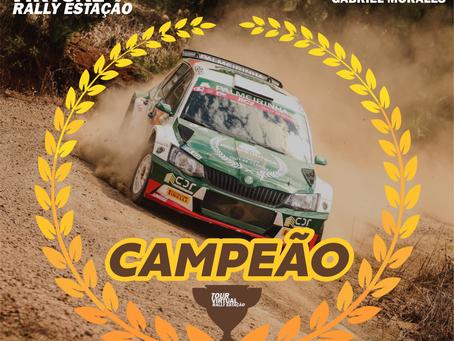Paulo Nobre/Gabriel Morales vencem o Tour Virtual Rally de Estação