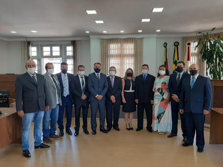 Poder Legislativo de Getúlio Vargas realiza Sessão Solene de Posse dos eleitos para 22ª Legislatura