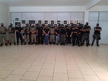 Polícia Civil e BM de Getúlio Vargas realizam ação no Bairro Monte Claro