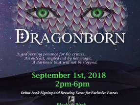 Debut Book Signing and Drawing Event
