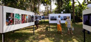 Goa International Photo Festival (GIPF) at our campus.