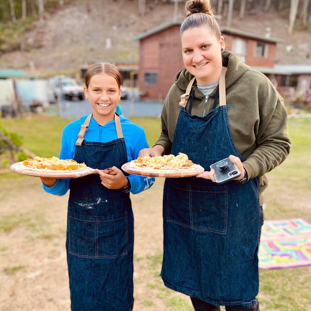 Mother and Daughter Pizza Workshop
