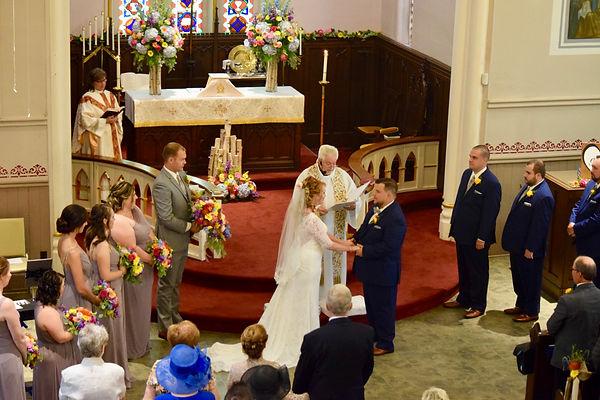 A beautiful wedding a St. John's Anglican Church Thorold.