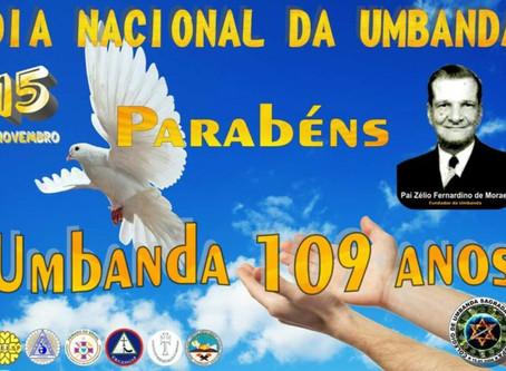 15/11 – Dia Nacional da Umbanda