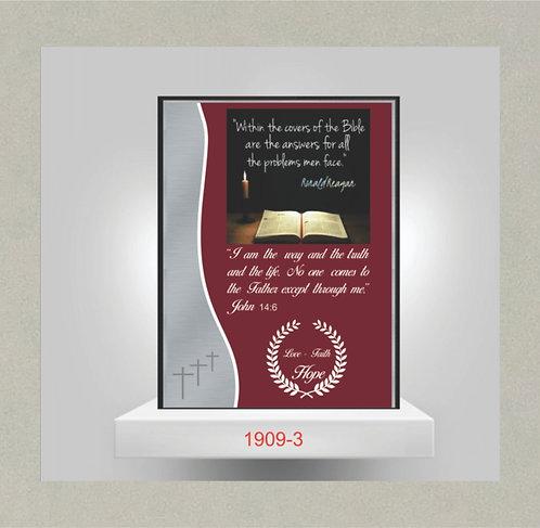 1909-3 Inspiration Plaque