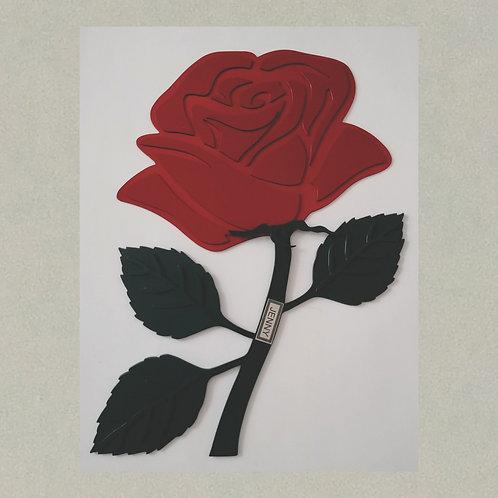 VD-J71402 Rose in 3D