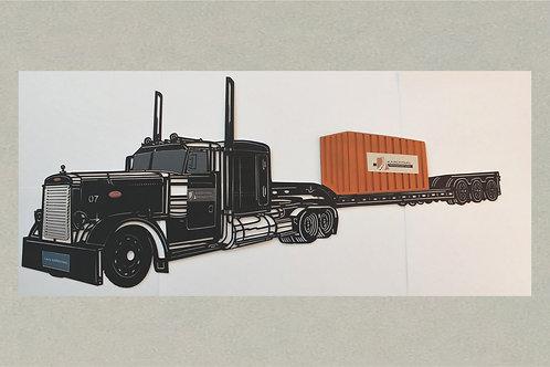 AN-J71399 Peterbilt Semi Truck in 3D