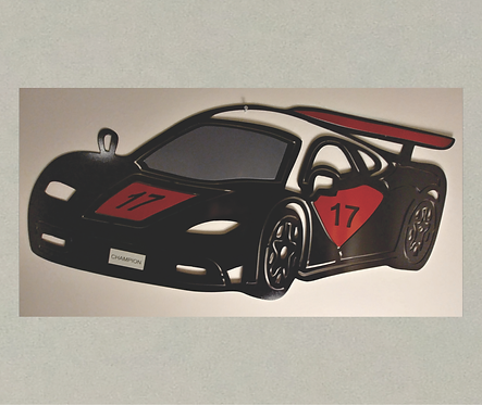 AT-J71365 Race Car in 3D