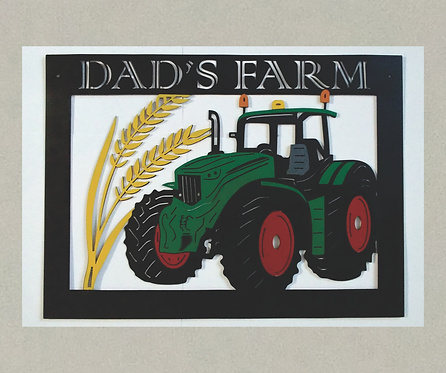 FM-J71397A Farm Tractor in 3D