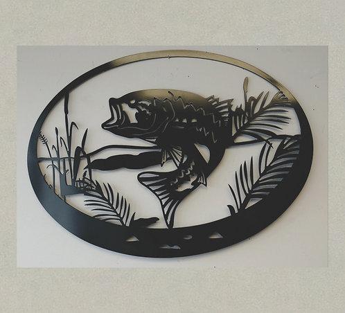 J71349 Bass Fish