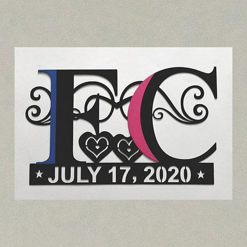 WD-J71394 Wedding - Anniversary - Love, in 3D
