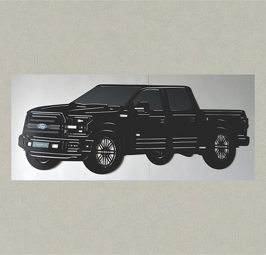 AT-J71393 Ford F150 in 3D