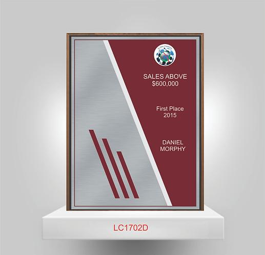 LC1702D - Plaque Award