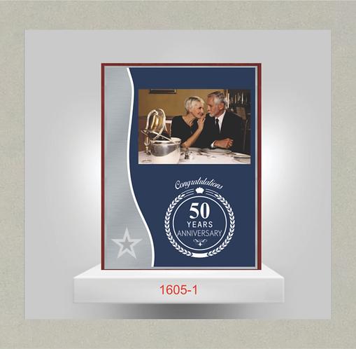 1605-1 Anniversary Plaque