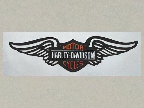 AN-J71337-B Harley Davidson in 3D