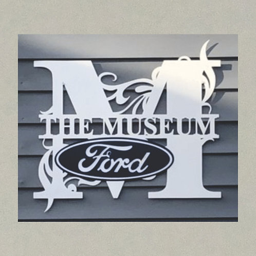 SM-10337 Split Monogram with Ford Logo in 3D