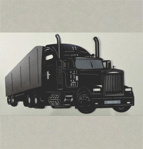 J71380A - 3D Semi-Trailer Truck in 3D