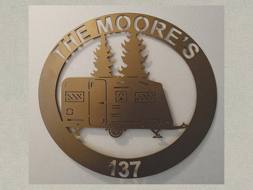 CM-J71332 Camping Trailler