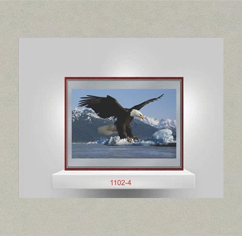 1102-4 Metal Photo