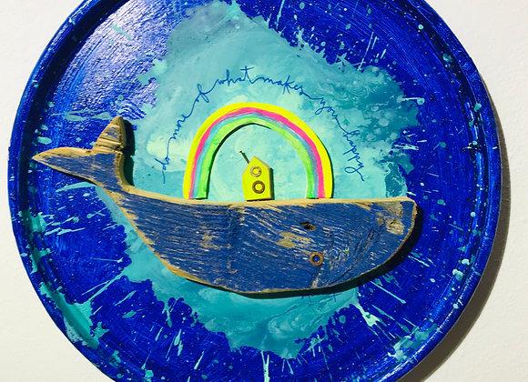Chapón Ballena Rainbow CBR2056
