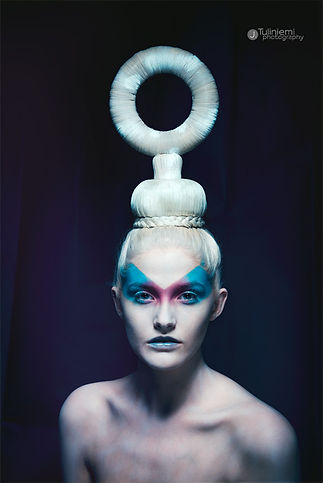 Avant Garde Ring Hair Piece Fashion Styling DBX Leicester