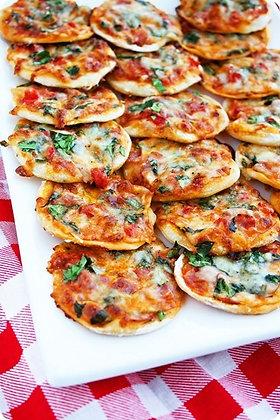 Mini Pizzas (per 20)