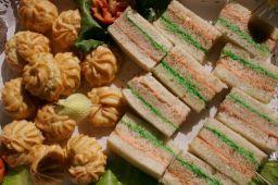 Mini Cheese Finger Sandwiches (per 20)