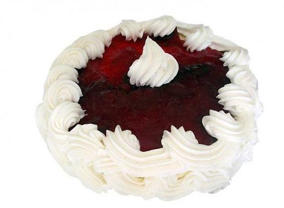 Strawberry Cheesecake (Eggless)