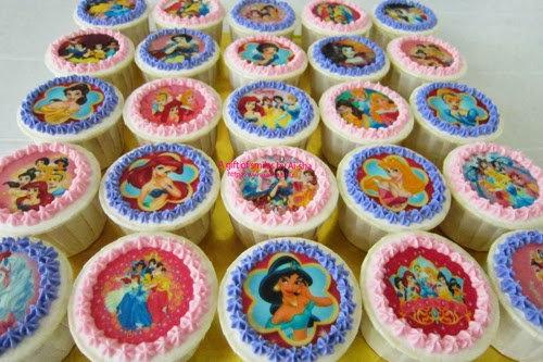 Edible Image Cupcakes (Dozen)