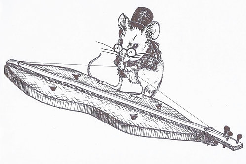 DULCIMER MOUSE - PREVIOUS YEARS' Ts